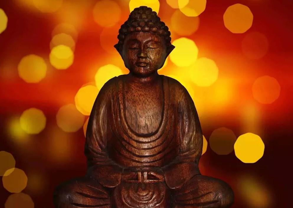 Будда для медитации на деньги