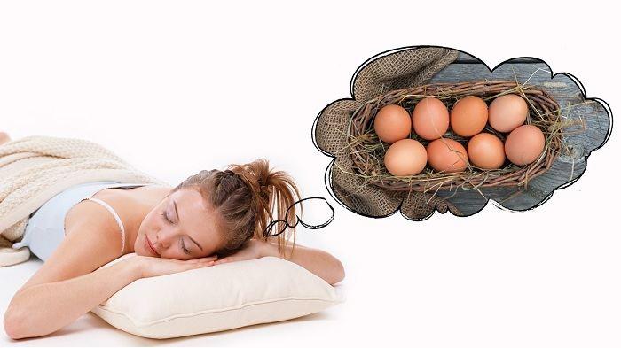 приснились куриные яйца