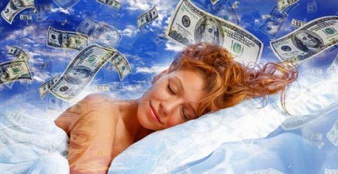 бумажные деньги приснились женщине