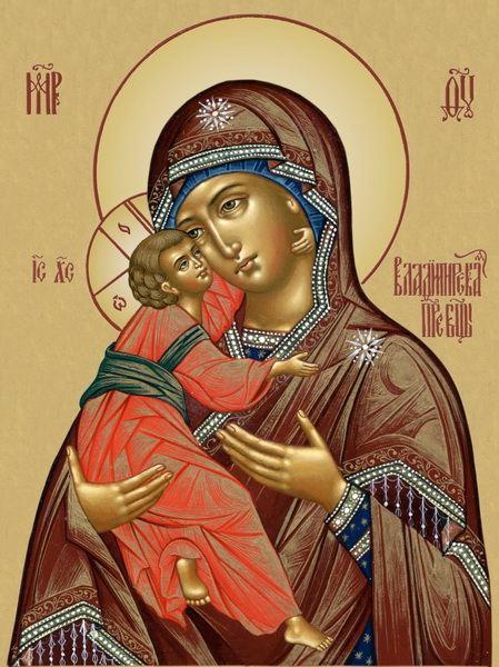 Икона Пресвятой Богородице