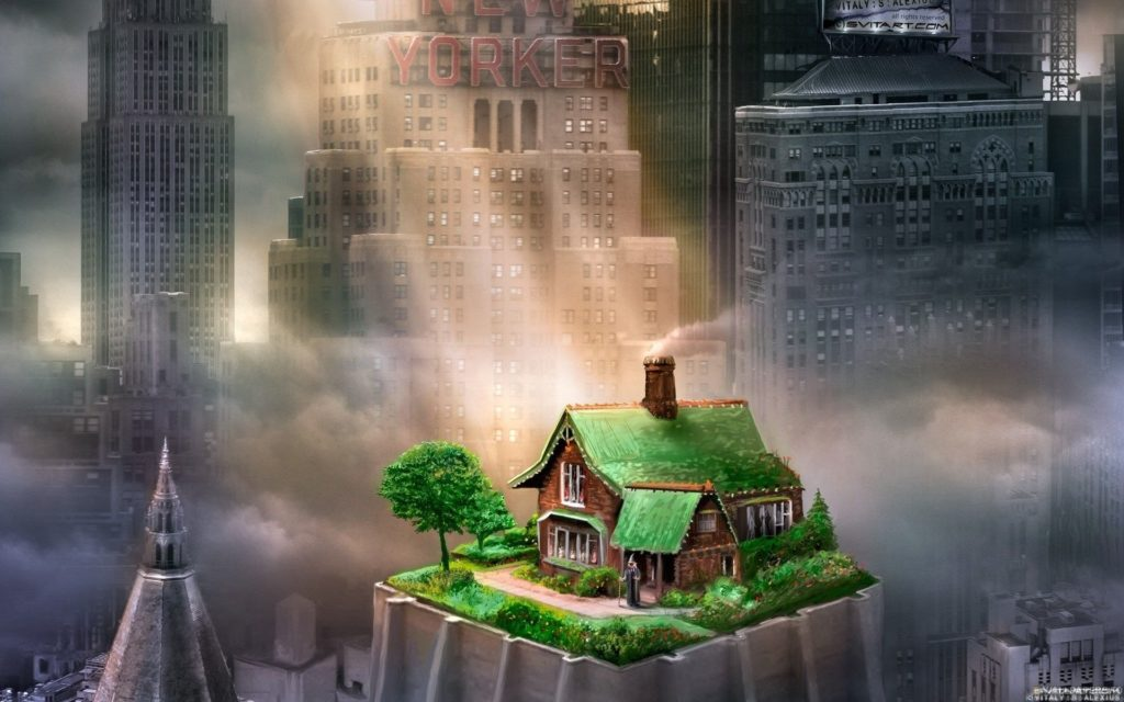 Очистка дома от тёмной энергии